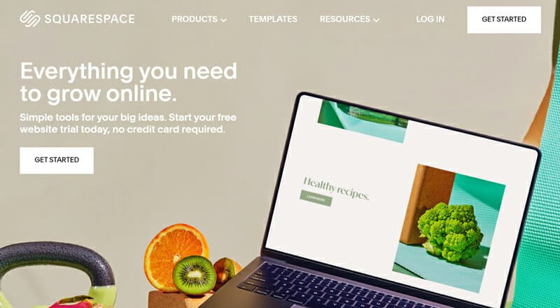 Squarespace is a website builder with amazing templates