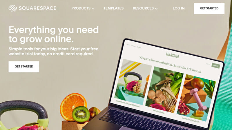 Squarespace is perfect for people looking for a superb design and who have a little bit of technical knowledge