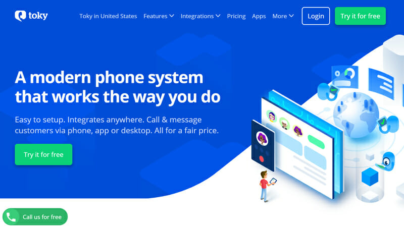 Toky is the best RingCentral Alternative for Sales, Support, and Team Collaboration