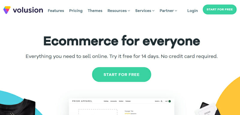 Volusion is the best affordable online store builder for small businesses that are just starting out