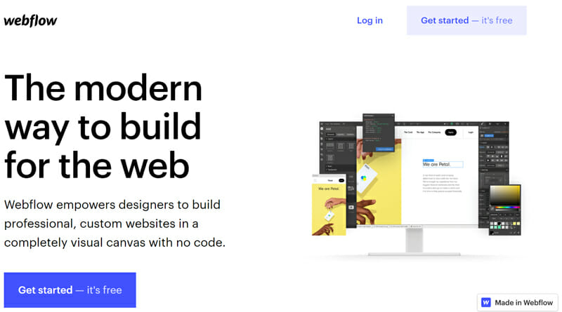 Webflow is a great ghoice for total design and Content Layout Customization with Zero Coding