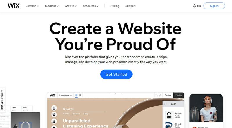 Wix Website Builder Feature Overview