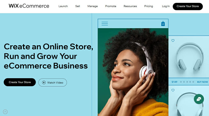 Wix eCommerce is the best eCommerce website builder for small businesses