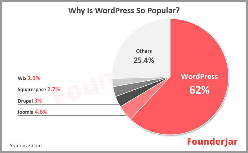 popularity of website platforms among owners