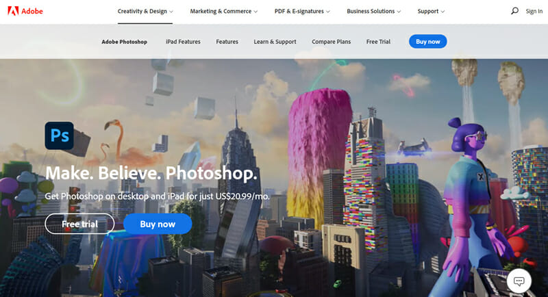 Most Popular And Fully Featured Image Editing Software, Best For Advanced Graphics Designers