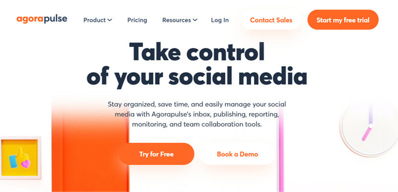 Agorapulse is the best Social Media Management Tool with Dedicated Social Listening Features