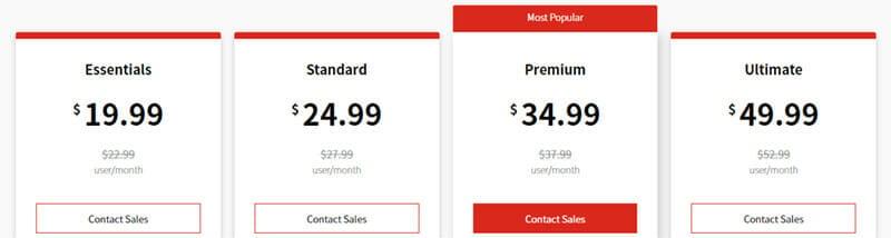 Avaya Contact Center Pricing Plan