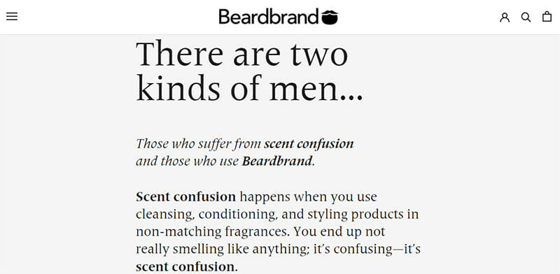Beardbrand is an Online Store for Beard Maintenance Products