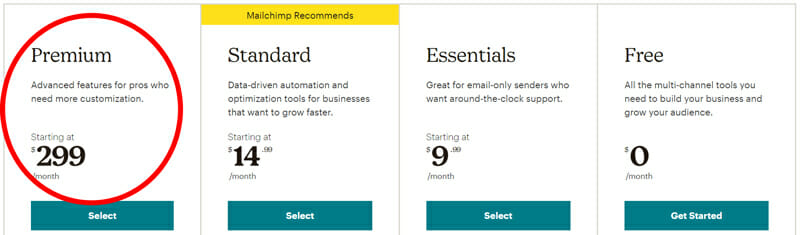 Best Mailchimp Plan for Users Who Need More Customization