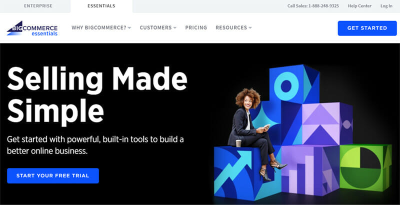 BigCommerce is a Hosted Website Builder Specialized in Building Ecommerce Websites