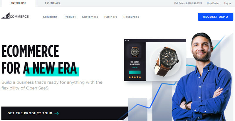 BigCommerce is a platform that Competent Collection of Specialized Ecommerce Tools and Features