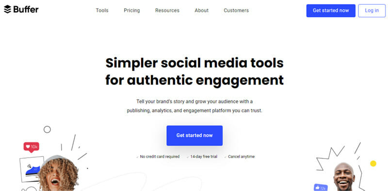 Buffer is the best User friendly Platform for Small Businesses and Agencies