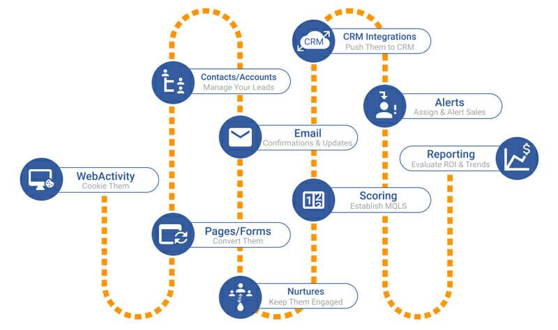 CRM Marketing Automation Process