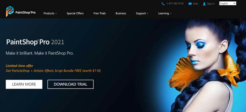 Corel PaintShop Pro is the best Image Editing Software For Photographers
