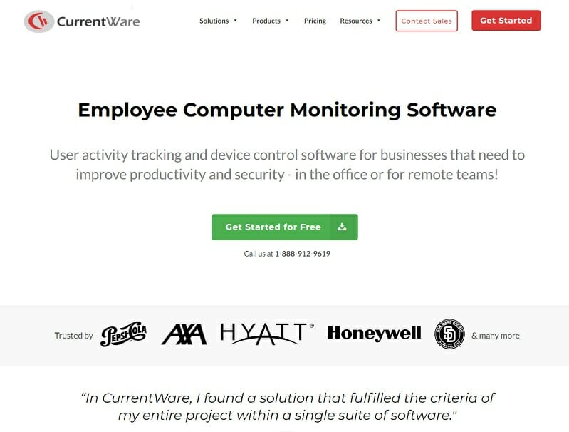 CurrentWare - Employee Computer Monitoring Software