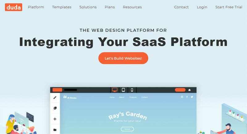 Duda is the Fastest Design Focused Website Builder with Ecommerce Features on All Plans