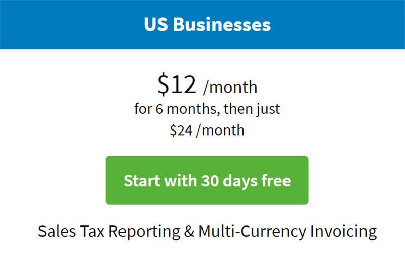 FreeAgent Pricing Plan
