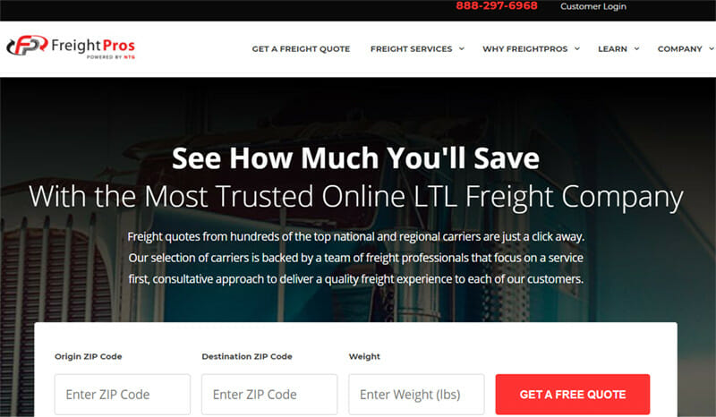 FreightPros is the best 3PL Freight Service for Small and Medium scale Businesses