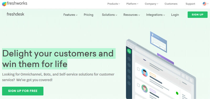 Freshdesk is a Call Center Software with Ticketing System for Team Collaboration and Agent Productivity