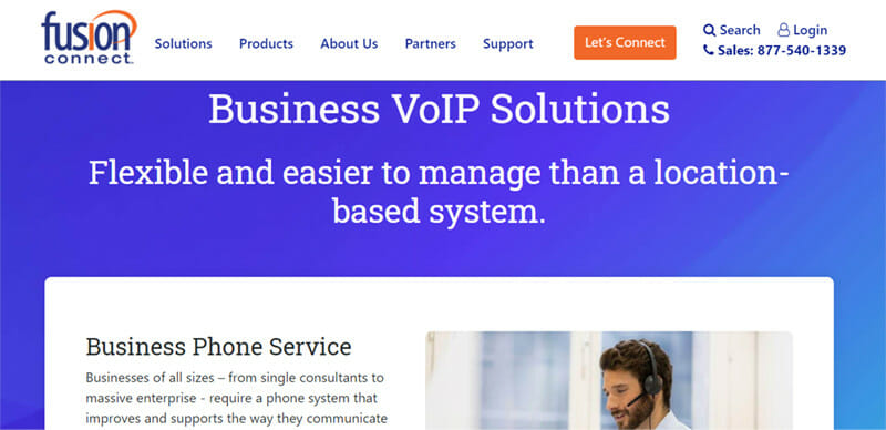 Fusion Connect is the best business VoIP service provider with very responsive customer service
