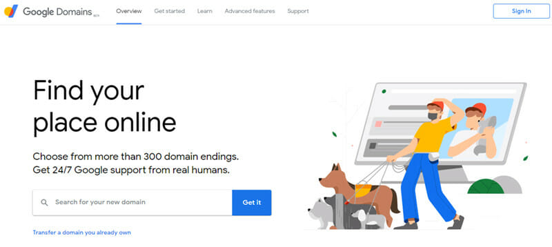 Google Domains is a Domain Registrar with Fast, Cloud Based DNS Infrastructure