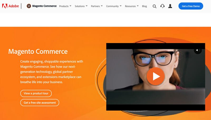 Magento is a Self hosted eCommerce platform with zero costs