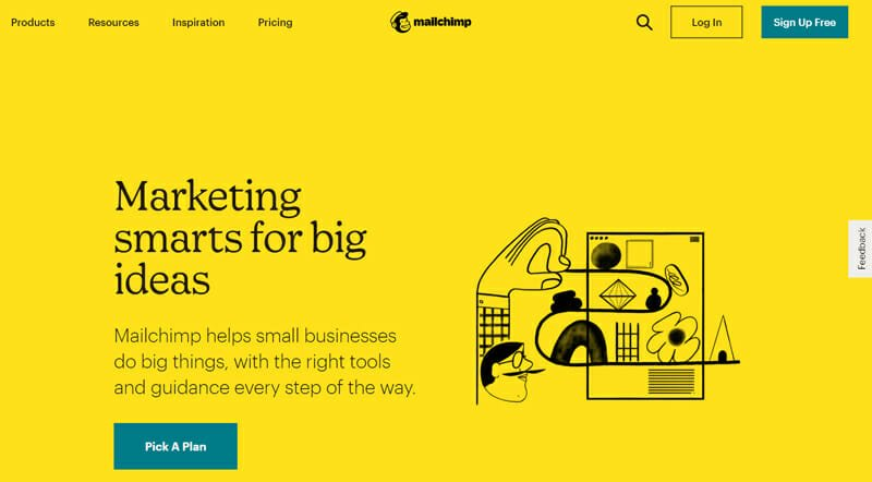 Mailchimp is the best email marketing tool for small businesses and non profit organizations