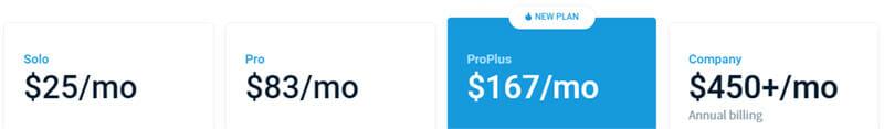 Mention Pricing Plan