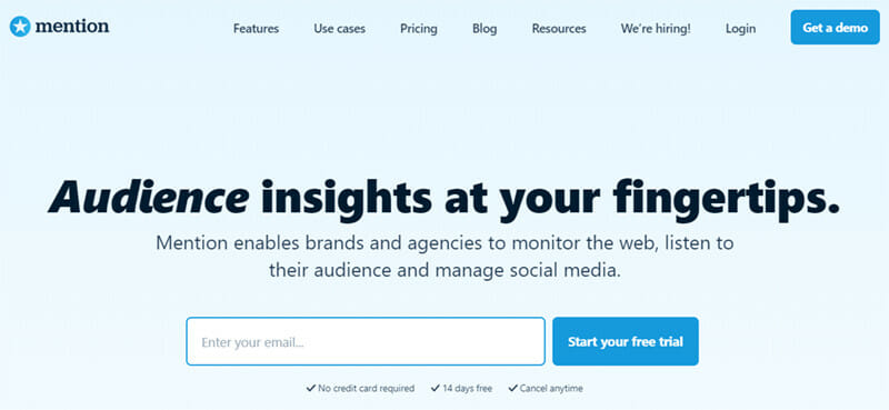 Mention is the best Comprehensive Tool for Social Media Management and Social Listening