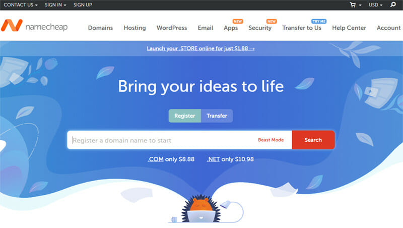 NameCheap is a Domain Registrar With Cheap Domain Prices And Multiple Supporting Applications