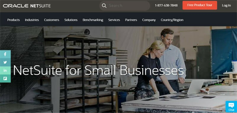 NetSuite is a powerful cloud based ERP software that helps large businesses