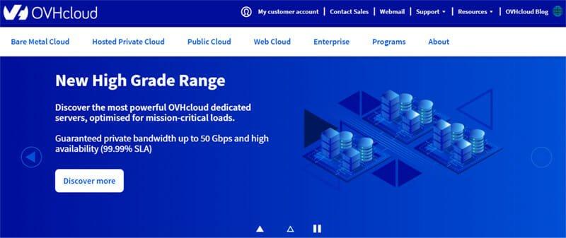 OVH is a domain Registrar with Cloud Based Services and Top Quality Platform Integrations