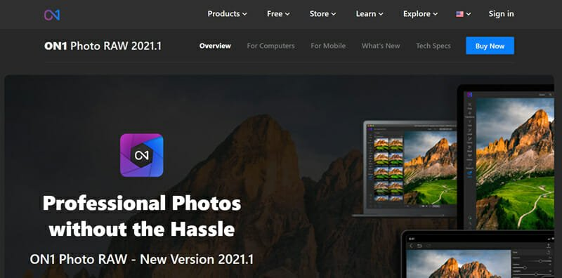 On1 Photo RAW is a Photo editing Software Dedicated to Portrait editing