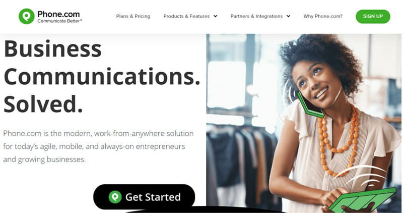 Phone.com is the best business VoIP provider for the most budget friendly VoIP features
