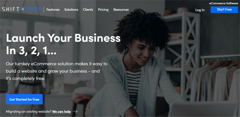 Shift4Shop is an eCommerce platform that offers free solutions to every business