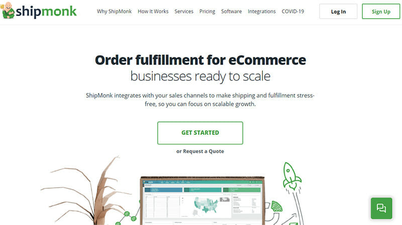 ShipMonk 3PL Service With a Main Focus on DTC Order Fulfillment Services