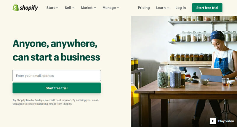 Shopify is an Ideal eCommerce Platform with a robust online store editor