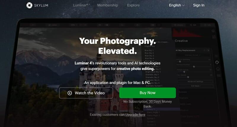 Skylum Luminar is an Image Editing Software With Great Plugins