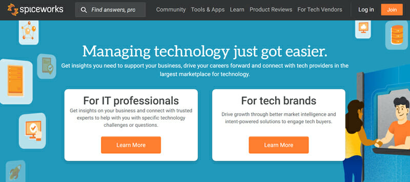 Spiceworks is the best Free In house IT Ticketing Help desk for Tech Based Organizations