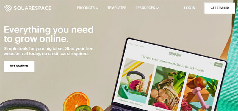 Squarespace is an Ecommerce Platform with Award Winning Website Design Templates