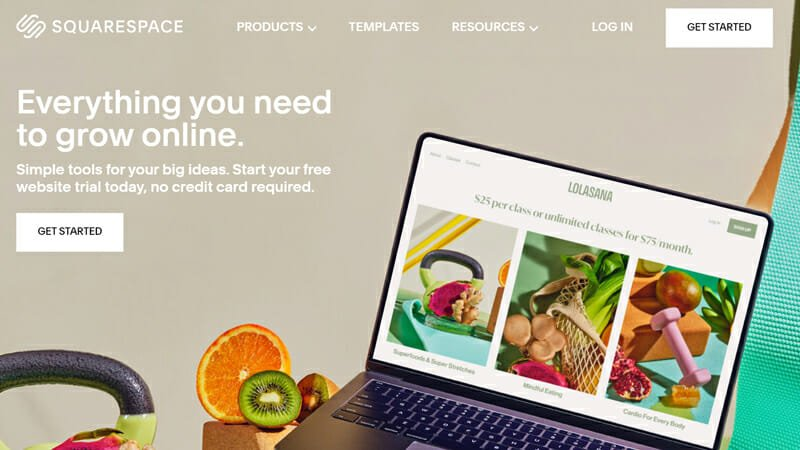 Squarespace is the best eCommerce website builder for stunning and interactive online store designs