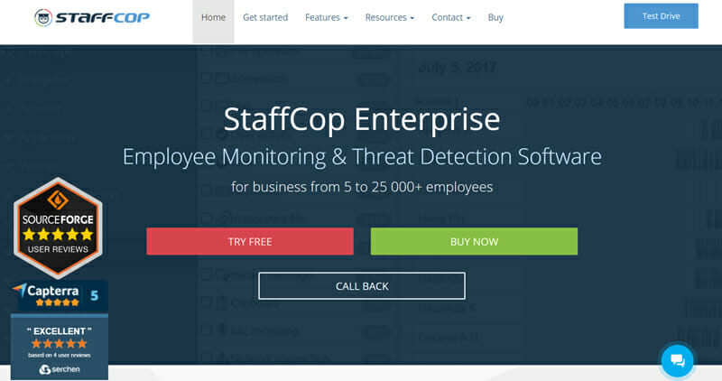 StaffCop is the best On Premise Solution for Enterprises