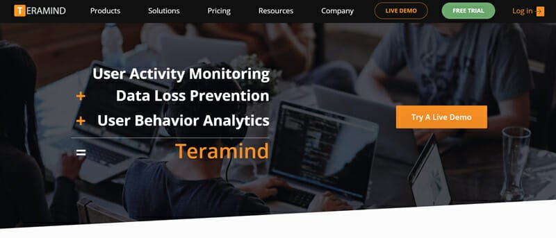 Teramind is the best Employee Monitoring Solution for Enterprises