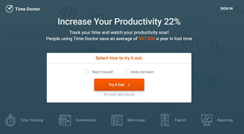 Time Doctor is the best Full Featured Employee Monitoring Software