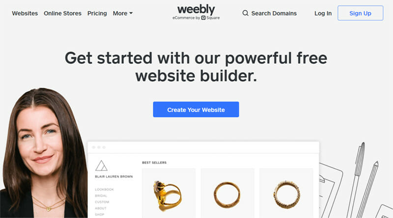 Weebly is a Freemium Software that Allows to Build Website in Real time