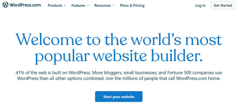 WordPress is the Most Powerful Self hosted Content Management System with Website Building Functionalities