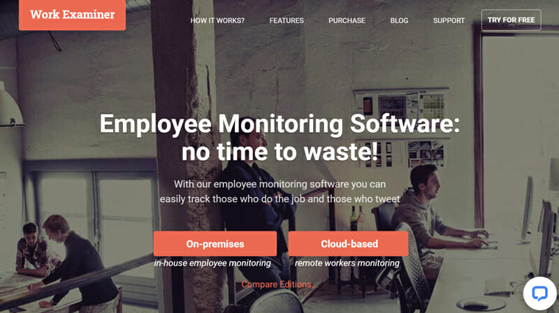 Work Examiner is the best Employee Monitoring Software for Customization and Automation