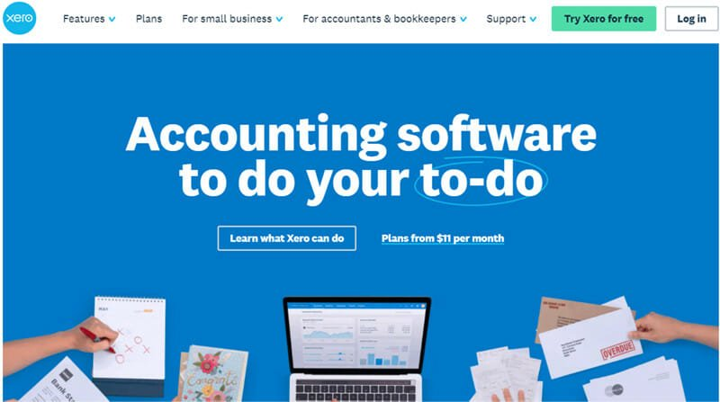 Xero is the best accounting software that perfect for micro businesses
