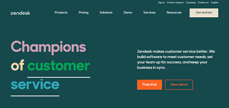 Zendesk is the best CRM Tool with Salesforce Automation and Team Collaboration Tools for Businesses