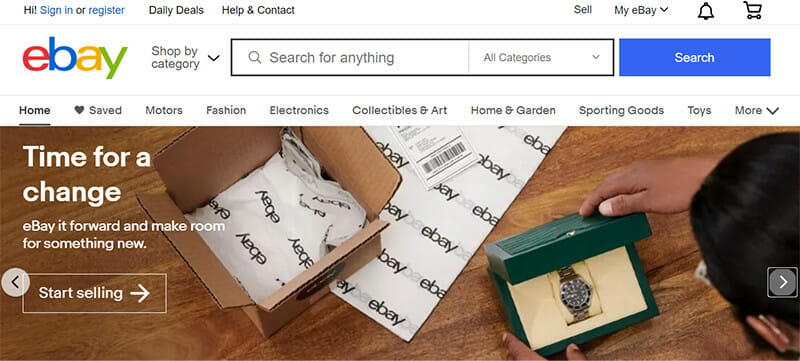 eBay has grown to be one of the largest global online C2C marketplaces on the internet today